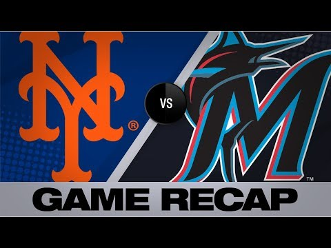 Video: Cano's 4 hits, deGrom lead Mets | Mets-Marlins Game Highlights 7/14/19
