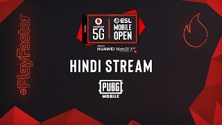 [HINDI] Vodafone 5G ESL Mobile Open | Finals | PUBGM