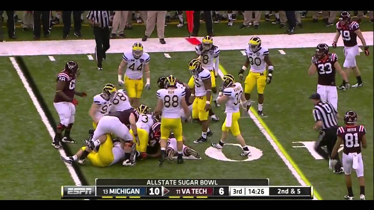 David WIlson vs Michigan