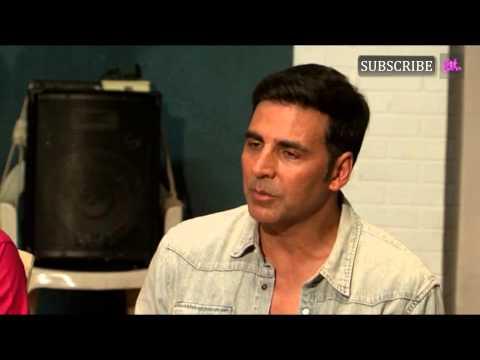 Akshay Kumar on set of Badi Door Se Aaye Hai Part