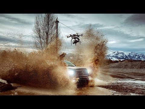 Drone ile çekilmiş dünyanın ilk 1,000 fps 4K videosu