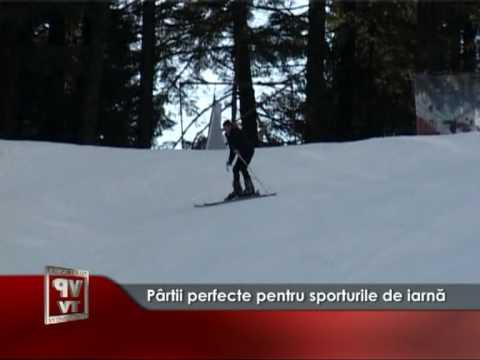 Pârtii perfecte pentru sporturile de iarnă