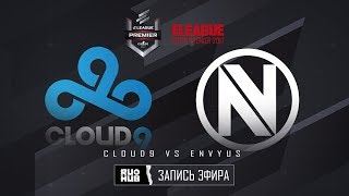 Cloud9 vs Team EnVyUs - ELEAGUE Premier 2017 - de_train [ceh9, MintGod]