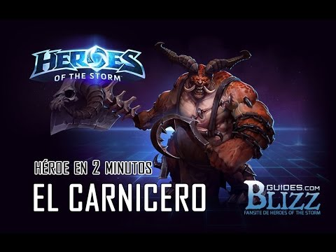 Heroes of the Storm: El Carnicero en 2 minutos
