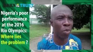 Nigerians' reactions to Rio Olympics