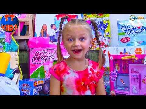 Едем в Детский дом и Везем много игрушек для Детей (видео)
