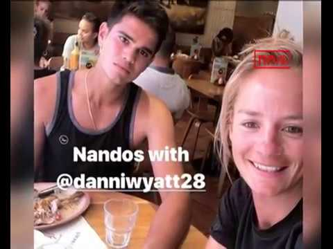 Arjun Tendulkar Enjoys Lunch Date With Danielle Wyatt
