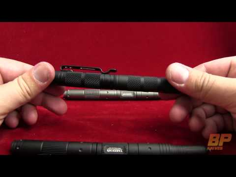 Takedown Elite Tactical Pen w/ Crown & LED (Gunmetal) TDH-9