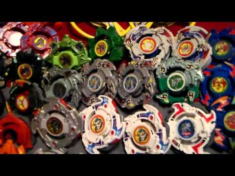 Old School Plastic & HMS Beyblade Collection (9/4/15)