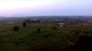 Drone captures Plain of Jars