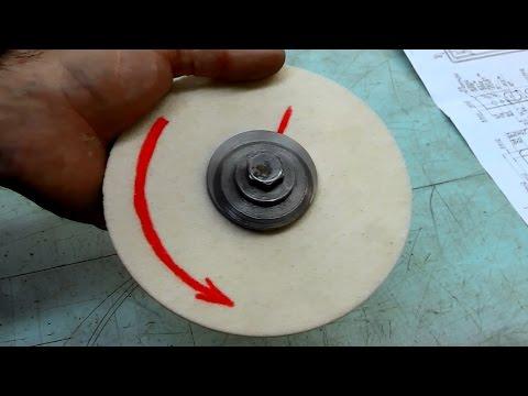 как устранить биение наждачного круга