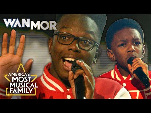 "WanMor Sing Boyz II Men's ""It's So Hard to Say Goodbye"" 