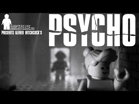 LEGO Psycho shower scene