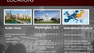 Public Policy Internship Program Overview Video