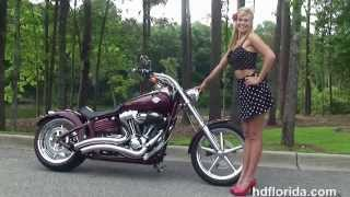 8. Used 2008 Harley Davidson Softail Rocker C Motorcycles for sale *