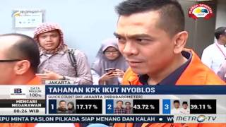 Nyoblos di KPK, M Sanusi Harap Jakarta Lebih