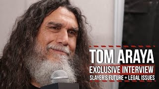 Video Tom Araya on Slayer's Future + Legal Issues MP3, 3GP, MP4, WEBM, AVI, FLV Januari 2018
