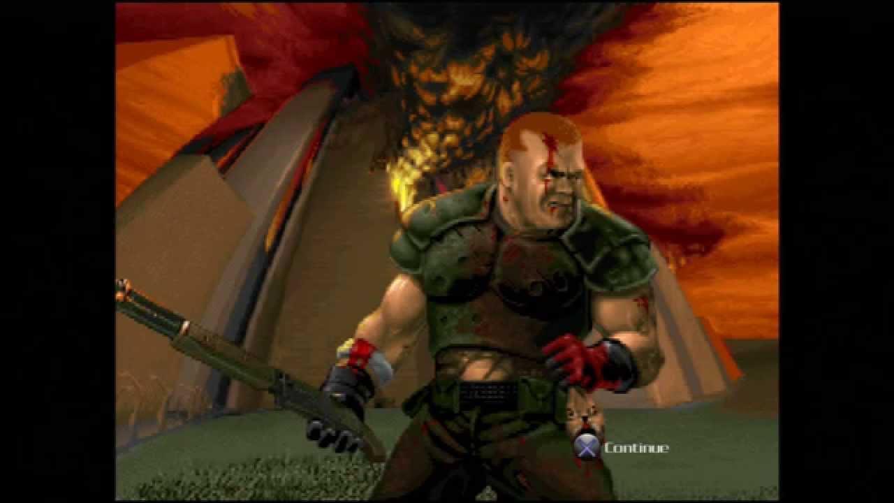 "Doom (E4M8 ""Unto the Cruel"") Walkthrough – Ultra-Violence"