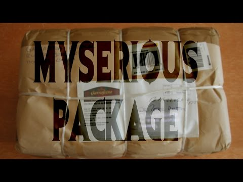 """I Received a Mysterious Package in the Mail"" by Christopher Maxim 