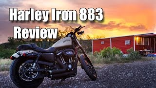 9. Harley Davidson Iron 883 Review - 2,000 miles later