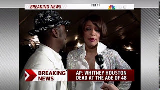 Whitney Houston is dead. Details to come. Pop diva dead at 48.