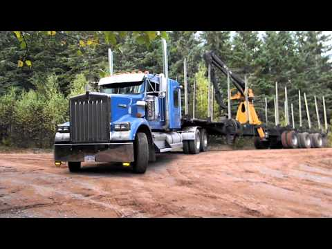 Loud Kenworth Log Trucks