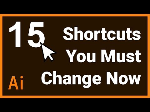 15 Illustrator Shortcuts You Should Change Now
