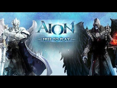 AION PL – ogólne informacje , rasy , klasy , menu , kreator postaci ( gameplay komentarz PL)