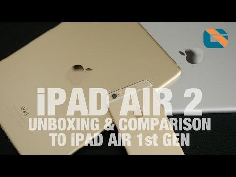 1st - Please Support Me on Patreon http://www.davidcryer.uk/ Apple iPad Air 2 Unboxing & iPad Air 1st Gen Comparison Subscribe on YouTube: http://bit.ly/subcribetome Our latest Geek Findings:...