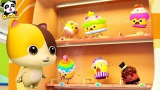 Video Baby Kitten Loves Cupcakes   Magical Vending Machine   Ice Creams, Candy Song   Baby Song   BabyBus MP3, 3GP, MP4, WEBM, AVI, FLV Desember 2018