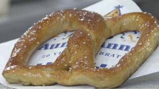 How To Make Auntie Anne's Soft Pretzels