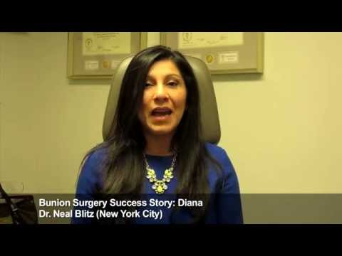 Diana: Bunion Surgery