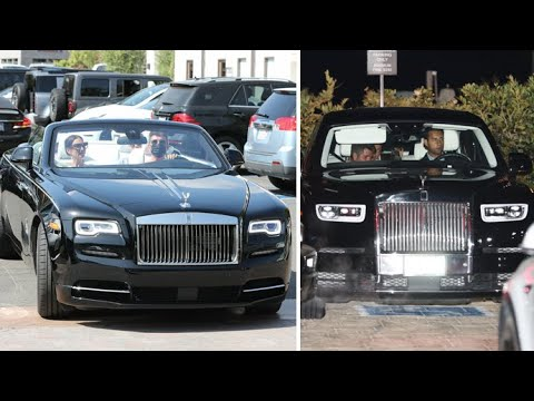 Simon Cowell Switches Up His Rolls Royces For Daytime And Nighttime Use