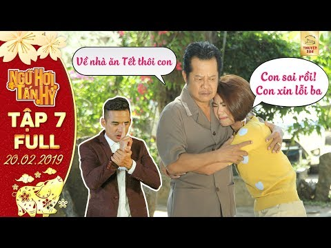 Phim Tết Ngũ Hợi Tấn Hỷ|Tập 7 full: Phi Long giúp ông Minh Dương & Xuân Mai đoàn viên đêm giao thừa - Thời lượng: 1 giờ, 12 phút.