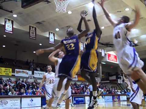 Men's Basketball vs. Ashford at Nationals, Diop's Putback, 3.10.2011