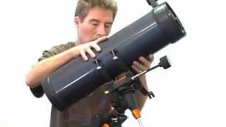 "Celestron AstroMaster 114 EQ 4.5"" Equatorial Reflector Telescope - 31042"