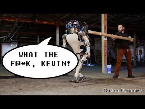 Bostron Robotics s Atlas Robot