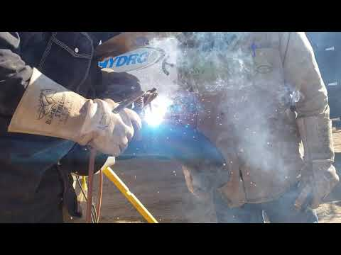 Cap Welding 7010 3/16 On Rolly Polly Whipping It