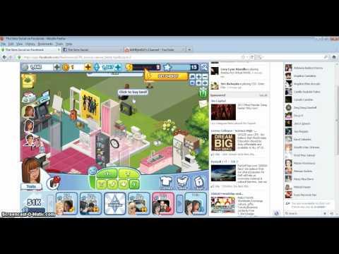 The Sims Social jeu