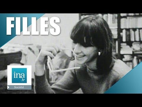 1965 que pensent les filles des garçons archive ina