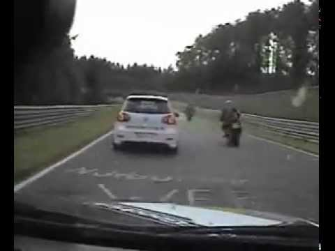 On board E30 M3 at the Nürburgring (видео)