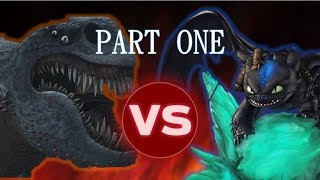 Video Alpha Night Fury vs Red Death PART ONE [Dragon Tournament #6] MP3, 3GP, MP4, WEBM, AVI, FLV Desember 2018