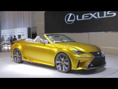 LA Auto Show: Lexus LF-C2 Concept with Moe Durand