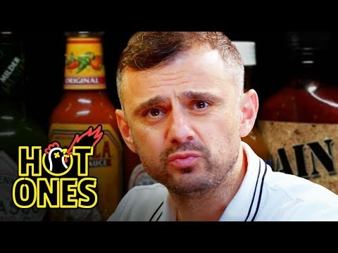 Gary Vaynerchuk Tests His Mental Toughness While Eating Spicy Wings | Hot Ones