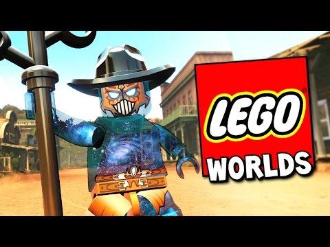 LEGO WORLDS ПРОХОЖДЕНИЕ - МОНСТР-ЛЮДОЕД ИЗ БОЛОТА! НОВЫЙ БИОМ С СЕКРЕТАМИ!