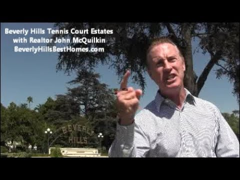 Beverly Hills Tennis Court Estates For Sale