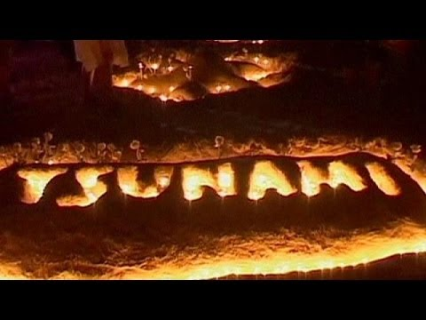 Tsunami kurbanları anıldı
