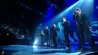 Take That - Love Love live @ National Movie Awards 2011