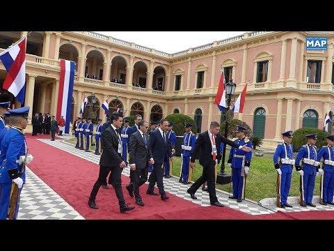 السيد الحبيب المالكي يمثل جلالة الملك في حفل تنصيب الرئيس الباراغوياني الجديد