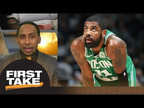 Stephen A. Smith: Kyrie Irving injury threatens Celtics' NBA playoff run | First Take | ESPN